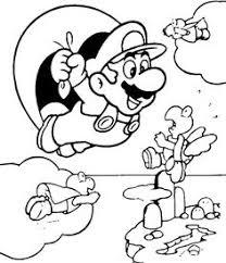 De 7 Beste Afbeeldingen Van Super Mario Kleurplaten Mario