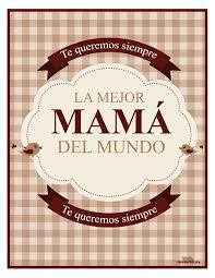 Tarjeta De La Mejor Mama Del Mundo Para Imprimir