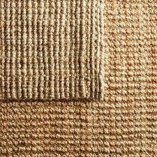 jute boucle rug