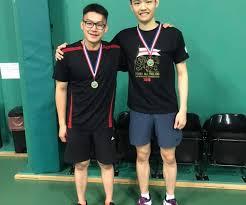 Men's Doubles Winners at Badminton England Tournament - Gi Media