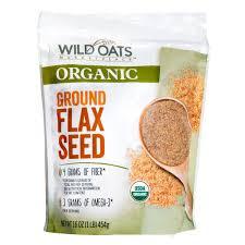 wild oats organic ground flax seed