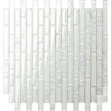 plain glass mosaic wall tile sheet
