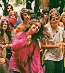 hippies in the 60s fashion festivals