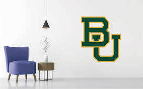 Baylor Bears Football Ncaa Wall Decal Sticker Egraphicstore