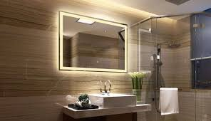 wall mounted led bathroom mirrors