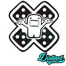 Domo Band Aid Sticker Jdm Stickers Band Aid Stickers