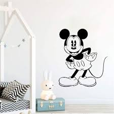 Mickey Mouse Disney Minnie 3d Window Decal Wall Sticker Home Decor Art Mural 3