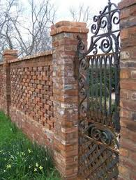 90 Best Brick Fence Ideas In 2020 Brick Fence Backyard Fence