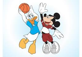 Top Mickey Mouse And Donald Duck Vector Cdr