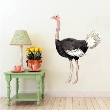 Ostrich Volstruis Safari Animals By Inkwood Impressions On Zibbet