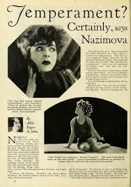 Alla Nazimova Society » 1926: Article about Alla Nazimova in Photoplay  magazine, by Adela Rogers St. John