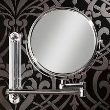 double arm adjustable bathroom mirror