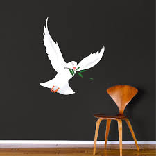 Freedom Dove Mural Decal Animal Wall Decal Murals Primedecals