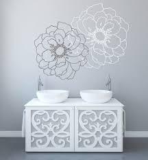 Modern Floral Wall Decals Nursery Urban Vector Vinyl Design For Bedroom Baby Large All Vamosrayos