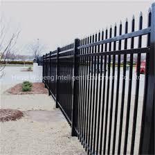 China Decorative 6ft 8ft Aluminium Garden Backyard Fence Panel China Fence Steel Fence