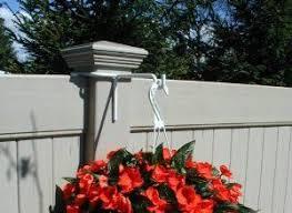 Dailyshop365 Com Fence Plants Vinyl Fence Hanging Planters