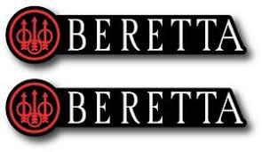 2x Beretta Decal Sticker 3m Us Made Truck Window Car Firearms Rifles Handgun Ebay