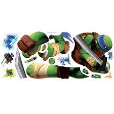 Wallhogs Teenage Mutant Ninja Turtles Leonardo Wall Decal Wayfair