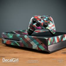 Microsoft Xbox One Skin Red Burst Decalgirl