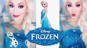 frozen makeup tutorial videos infini