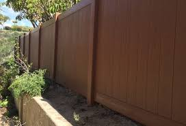 5 Feet 6 Inch Rustic Duragrain Vinyl Fence Vinyl Pro Fence