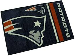 new england patriots bath rug
