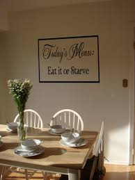 Today S Menu Eat Or Starve Wall Decals Trading Phrases