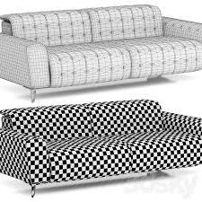 3d models sofa roche bobois satellite 2