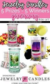 jewelry candles bath s giveaway