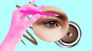 how to do eyebrows tutorials