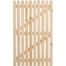 Picket Fence Gate Col