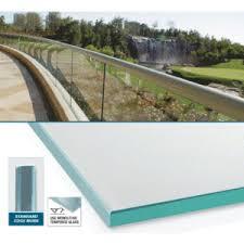 monolithic tempered custom size glass panel