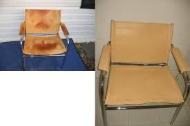 photo leather chair re dye fibrenew