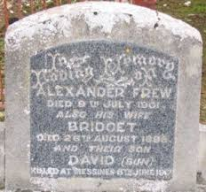 Bridget Augusta (Hayes) Frew (1847-1898) | WikiTree FREE Family Tree