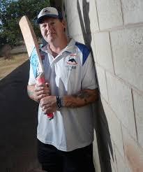 Richard Murphy padding up for 200th division one game with Marong   Bendigo  Advertiser   Bendigo, VIC