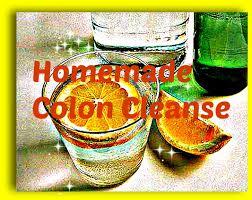 homemade colon cleanse using lemon water