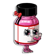 Hot Pink Sticker