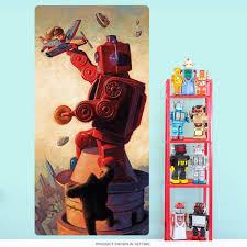 Robot King Kong Robo Kong Wall Decal Etsy