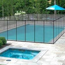 Amazon Com Giantex Pool Fence For In Ground Easy Diy Installation Pool Barrier Safety Mesh Fence 4footx12foot Swimming Pool Fence Black Garden Outdoor
