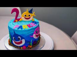 baby shark cake you