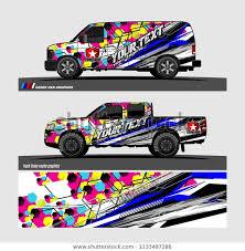 Car Decal Truck Cargo Van Wrap Stock Vector Royalty Free 1133497286