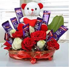 send flower basket gifts to hyderabad