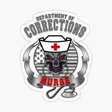 Corrections Officer Stickers Redbubble