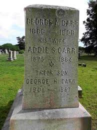 "Adelaide S. ""Addie"" Carr (1875-1964) - Find A Grave Memorial"