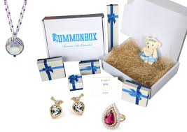 monthly box of fashion jewelry