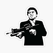 Scarface Stickers Redbubble