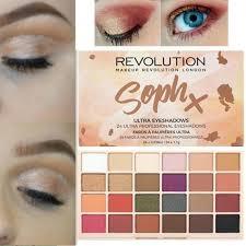 new makeup revolution soph eye shadow