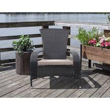 patio furniture black cushion chairs