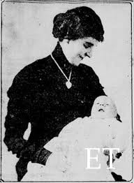MRS. ELOISE HUGHES SMITH AND HER SON