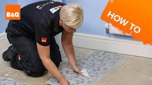 how to lay vinyl tiles carpet tiles